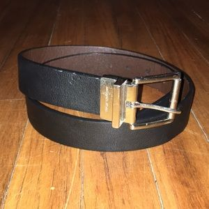 Michael Kors reversible leather belt